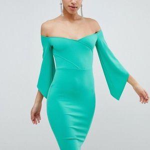 Club L Bardot Pencil Dress
